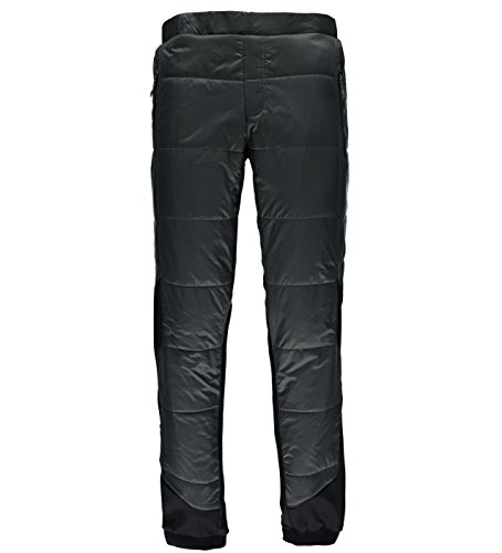 Spyder Men's Glissade Insulated Pant, Polar/Black, - Insulated Down Pants