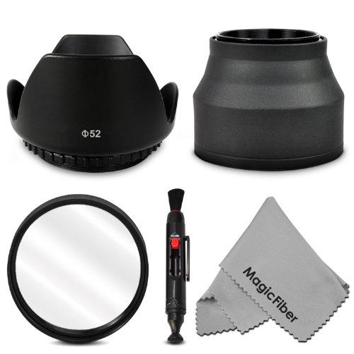 52MM Accessory Kit for NIKON D7100 D7000 D5300 D5200 D5100 D5000 D3300 D3200 D3100 D3000 D90 D80 DSLR Cameras