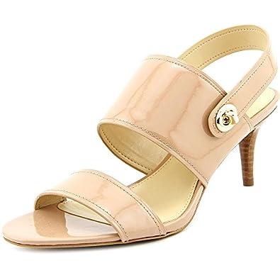 Amazon.com | Coach Women's Marla Patent Slingback Sandal ...