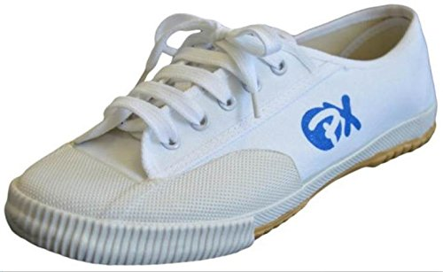 Segeltuchschuhe / Schuhe für Kung Fu und Wu Shu, Farbe weiss