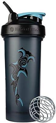BlenderBottle Garrafa agitadora clássica de animais oceanos, perfeita para shakes de proteína e pré-treino, ca