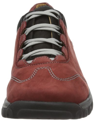 Ganter Gwen Weite G 7-204332-91010 - Zapatos de cuero para mujer, color rojo, talla 37 Rojo (Rot (rubin/schwarz 9101))