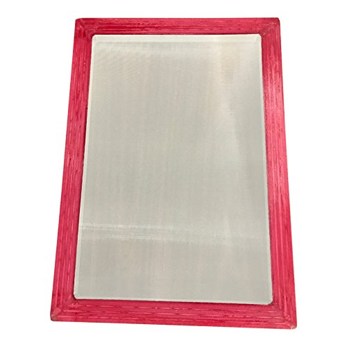 Aluminum Silk Screen Frame, 10x14 OD 110 mesh for screen printing by Sunbelt Mfg. Co.