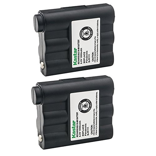 Kastar 2-Pack Replacement Battery for Midland BATT5R / AVP7 / FRS-005 / LXT210 / GXT-300 / GXT-325 / GXT-550 / GXT-555 / GXT-700 / GXT-710 / GXT720 / GXT750 / GXT-775 / GXT-795