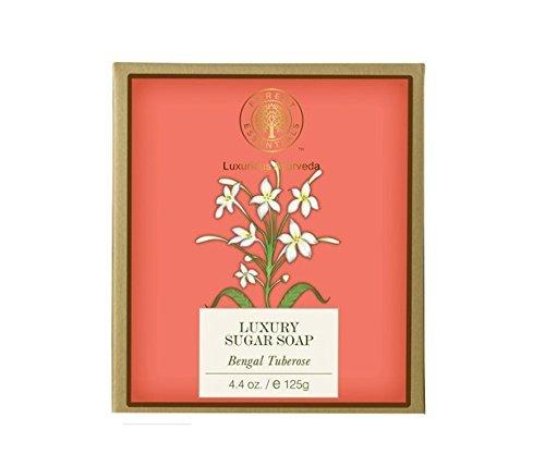 Forest Essentials Luxury Sugar Soap Bengal Tuberose - 125g