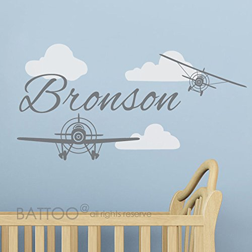 Boys Personalized Airplane - 6