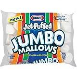 Kraft Jet Puffed Jumbo Marshmallow, 24 ounce (Pack of 2)