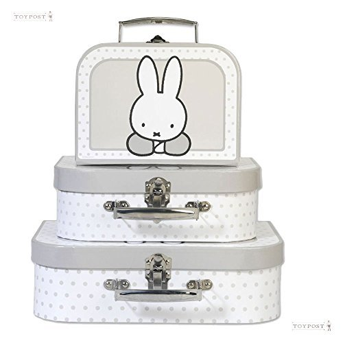 Miffy 'Nijntje' Suitcase 3 Piece Set by ToyPost