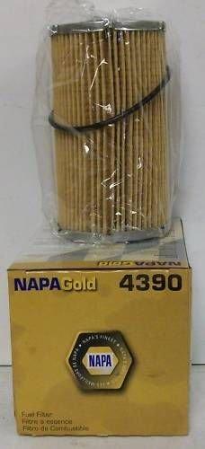 4390 NAPA Fuel Dispensing Pump Filter, Cartridge Fuel Metal; 5.435