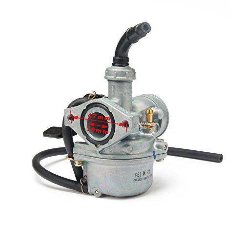 JFG Racing mano–Cable del estrangulador PZ19Pz22pz27PZ30Carb Carburador para motocicleta SUNL NST TAOTAO ATV...