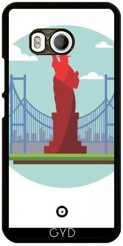 Funda para Htc U11 - Nueva York Los EEUU América by WonderfulDreamPicture