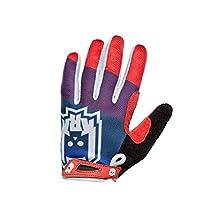 KRKprotection PAMPER Gloves Blue/Red MTB Dirt BMX