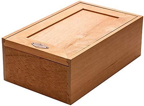 YONG FEI Caja de cigarros - Caja de Puros de Cedro con Alcohol Caja con Alcohol La Caja Original de Humect se Puede Usar para Colocar gabinetes de cigarros Caja de cigarros (