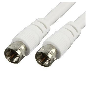 CPO® 10 m Coaxial/coaxial satélite/Sky/TV Cable, conector F