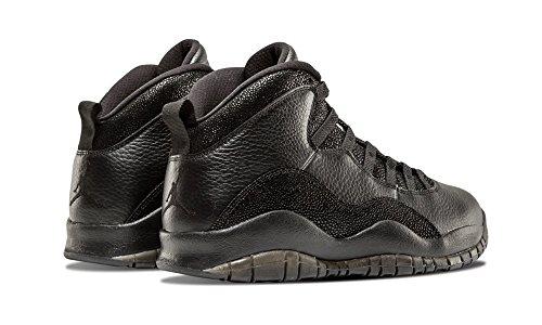 Gold 10 Nike Black Retro Ovo Metallic Negro Herren Black Turnschuhe Jordan Air qRAxPwRU