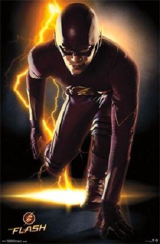The Flash Cw Tv Show Poster Print Picture - Portrait