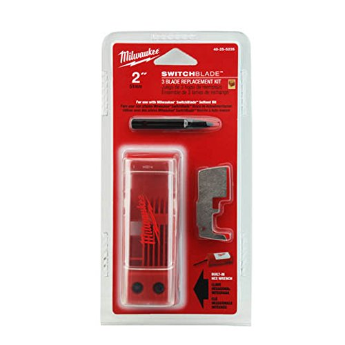 (Milwaukee 48-25-5235 2-Inch Switchblade 3 Blade Replacement Kit)