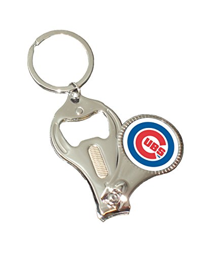 - MLB Chicago Cubs 3-in-1 Nail Clipper Keychain