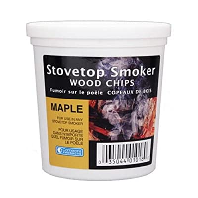 Maple Wood Smoking Chips - 1 Pint of Fine, Maple Wood Chips for Smokers - 100% Natural from Camerons Products