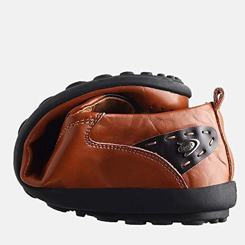 La Pois Plein Habillées À Pour Travail Air Conduite Dan Hommes De Chaussures Mocassins En Black Main qwgXpvXAx