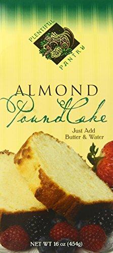 Plentiful Pantry Pound Cake Mix, Almond, 16 Ounce