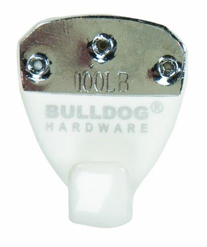 The Bulldog Hardware 4948961 Rubberized Picture Hanger, Small