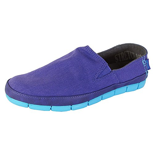 Crocs Sole Stretch Ultraviolet Electric Loafer Blue rHrxqnw