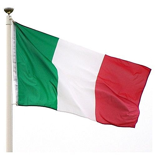 5x8 ft Flag of Italy Italian Tricolor Flag Rough Tex Knitted 5'x8' banner by RFCO