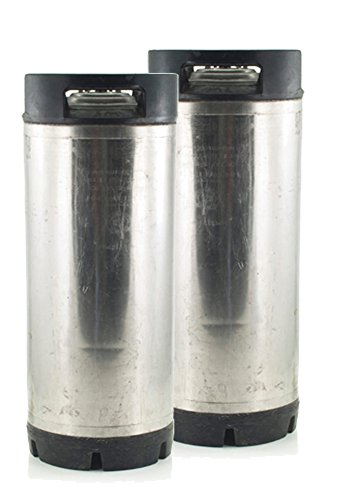 - 5 Gallon Low Profile Kegs Used 2 Keg Set