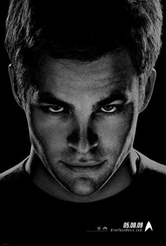 Star Trek Chris Pine Teaser Original Double Sided Rolled 27x40 Movie Poster 2009