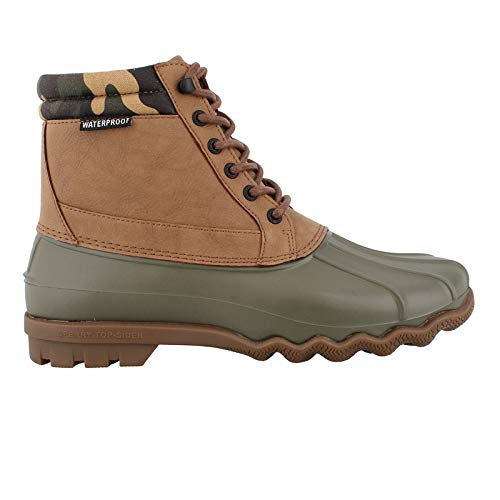 SPERRY Men's Brewster Boot Tan/Camo 10.5 M US ()