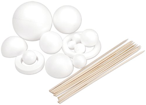 Solar System Kit for Modeling, White ()