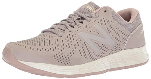 New Balance Women's Fresh Foam Arishi V1 Running Shoe, Flat White/au Lait, 10 B US
