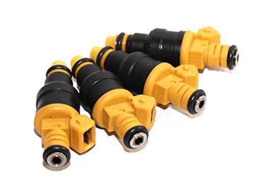(1set (4) Fuel Injector for Volvo 90-93 240/85-89 244/85-89 245/85-92 740 2.3L I4)