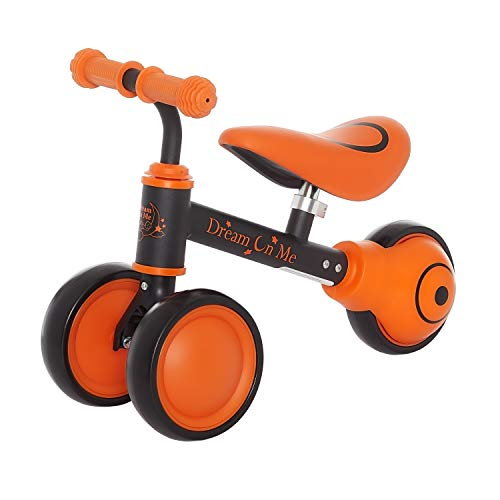 New Dream On Me 363-ORANGE Cruiser Balance Bike in, Orange
