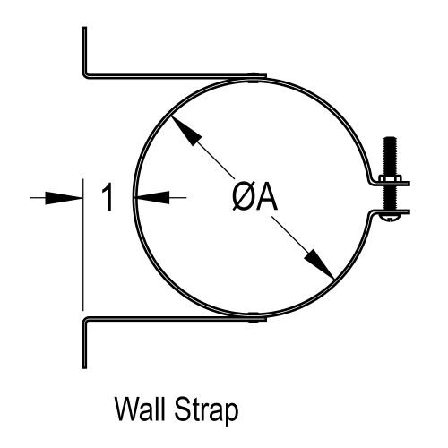 DuraVent 8GVWS 8'' Inner Diameter - Type B Round Gas Vent Pipe - Double Wall - Wa, Aluminum by DuraVent (Image #2)