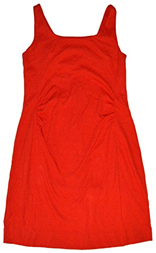 GAP Maternity Red Knit Sleeveless Sheath Dress Large