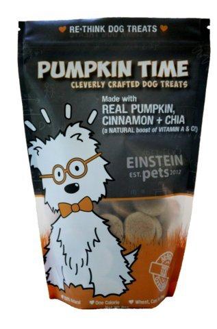Image of Einstein Pets- Pumpkin Time-- Grain Free and Organic Pumpkin Dog Treats- 8oz