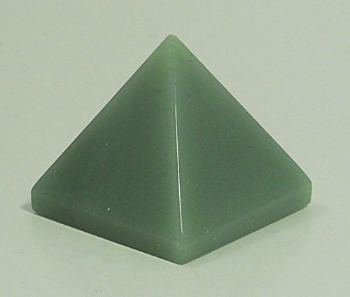 High Quality Natural Green Aventurine Pyramid Chakra Energy Generator Reiki Size Approx. 1.5-2