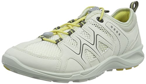 ECCO Women's Terracruise Multisport Outdoor Shoes, Silver, 5 UK White (59557shadow White/Sha.white/Popcorn)