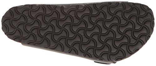 Birkenstock Unisex Arizona Metallic Anthracite Leather Sandals - 39 M EU / 8-8.5 B(M) US by Birkenstock (Image #3)