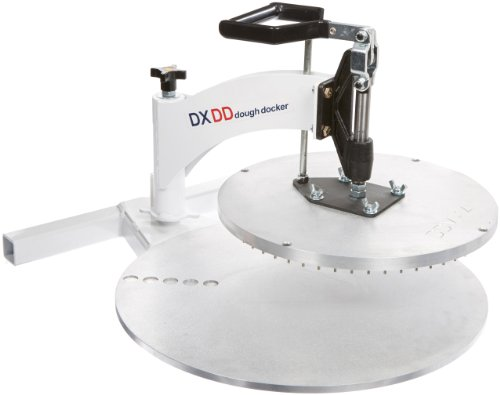DoughXpress DXDD-14 Dough Docker with 14'' Docking Platen, 22-1/2'' Width x 31-3/8'' Height x 30-7/8'' Depth by DoughXpress