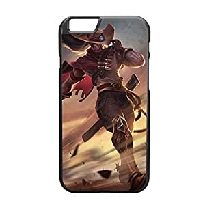 Personality customization Yasuo-002 League of Legends LoL case cover for Apple iPhone 6 Plus - Plastic Black