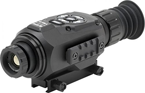 ATN ThOR-HD 384 1.25-5x, 384x288, 19 mm, Thermal Rifle Scope w/ High Res Video, WiFi, GPS, Image Stabilization, Range Finder, Ballistic Calculator and IOS and Android Apps by ATN