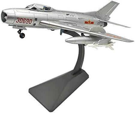 1/48航空機モデル、軍事中国J-6 / F-6戦闘機モデル、アダルトグッズやギフト、12.2Inch X 8.3Inch