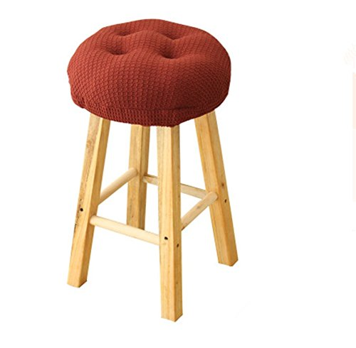 Olywell 12'' Round Thick Bar Stool Cushion, Make Your Stool Chairs Comfortable,With Ties to Stay On, Suitable by Olywell