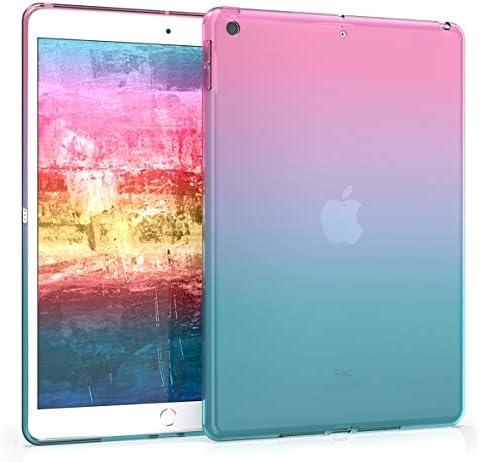 kwmobile 対応: Apple iPad 10.2 (2019) シリコン ケース - タブレットカバー - 耐衝撃 TPU ソフト 保護ケース