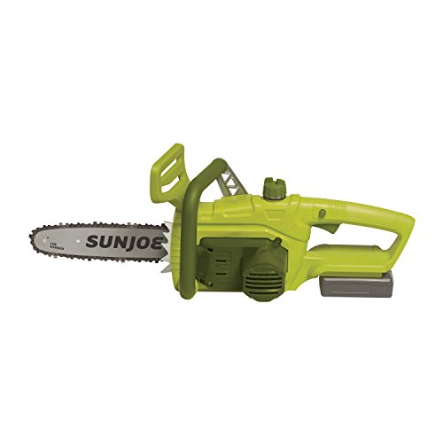 Sun Joe 20VIONLTE-CS10 10-inch 2.0-Amp 20-Volt Cordless Chainsaw, Green