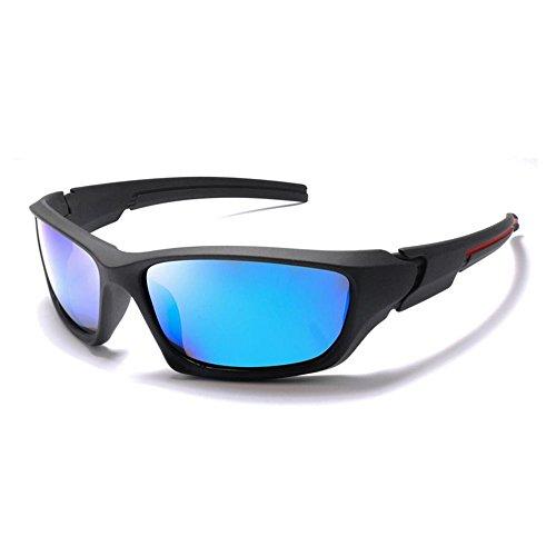 Lunettes soleil Sport de Fashion soleil GAOLIXIA unisexes Lunettes de Ski polarisées de Blue Protection Lunettes soleil intégrale XqwvPB7