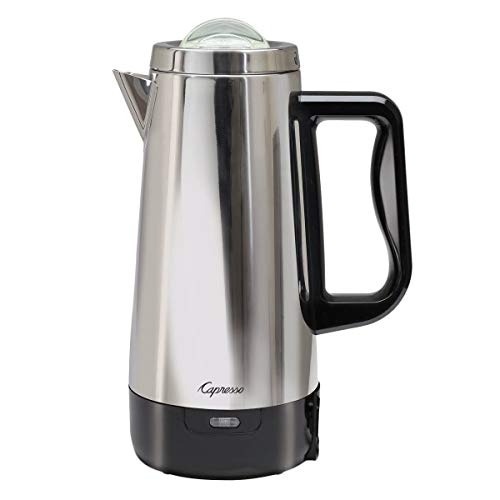 Perk Stainless Steel 12-Cup Coffee Glass